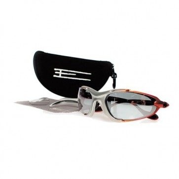 EXEL E COOL EYEGUARDS SILVER/ORANGE