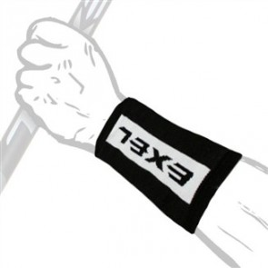 EXEL FEEL WRISTBAND X-LONG WT/BK