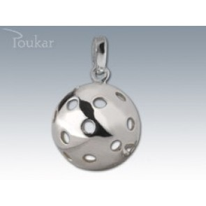 FLOORBALL BALL SILVER PENDANT