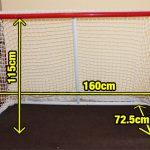 FLOORBALL GOAL ICE HOCKEY/FLOORBALL WOOLOC 160x115CM-39