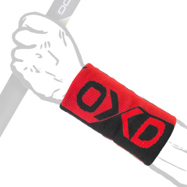 OXDOG POP LONG WRISTBAND BK/RD-0