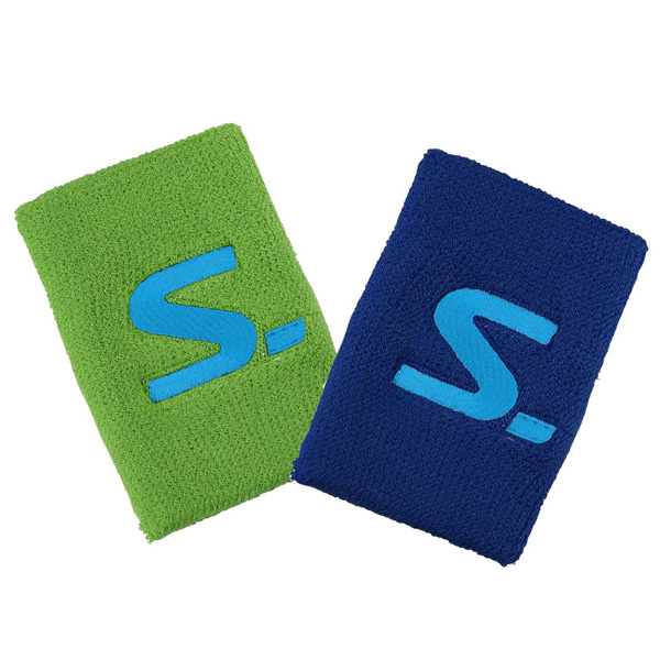 SALMING WRISTBAND 2PACK BL/GR-0