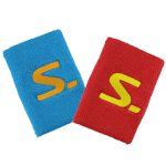 SALMING WRISTBAND 2PACK RD/BL-0
